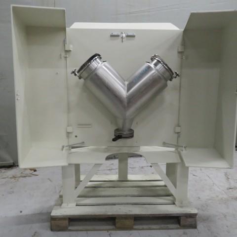 """R6MC986 Mélangeur rotatif en """"V"""" MORITZ inox capacité 25 litres"""