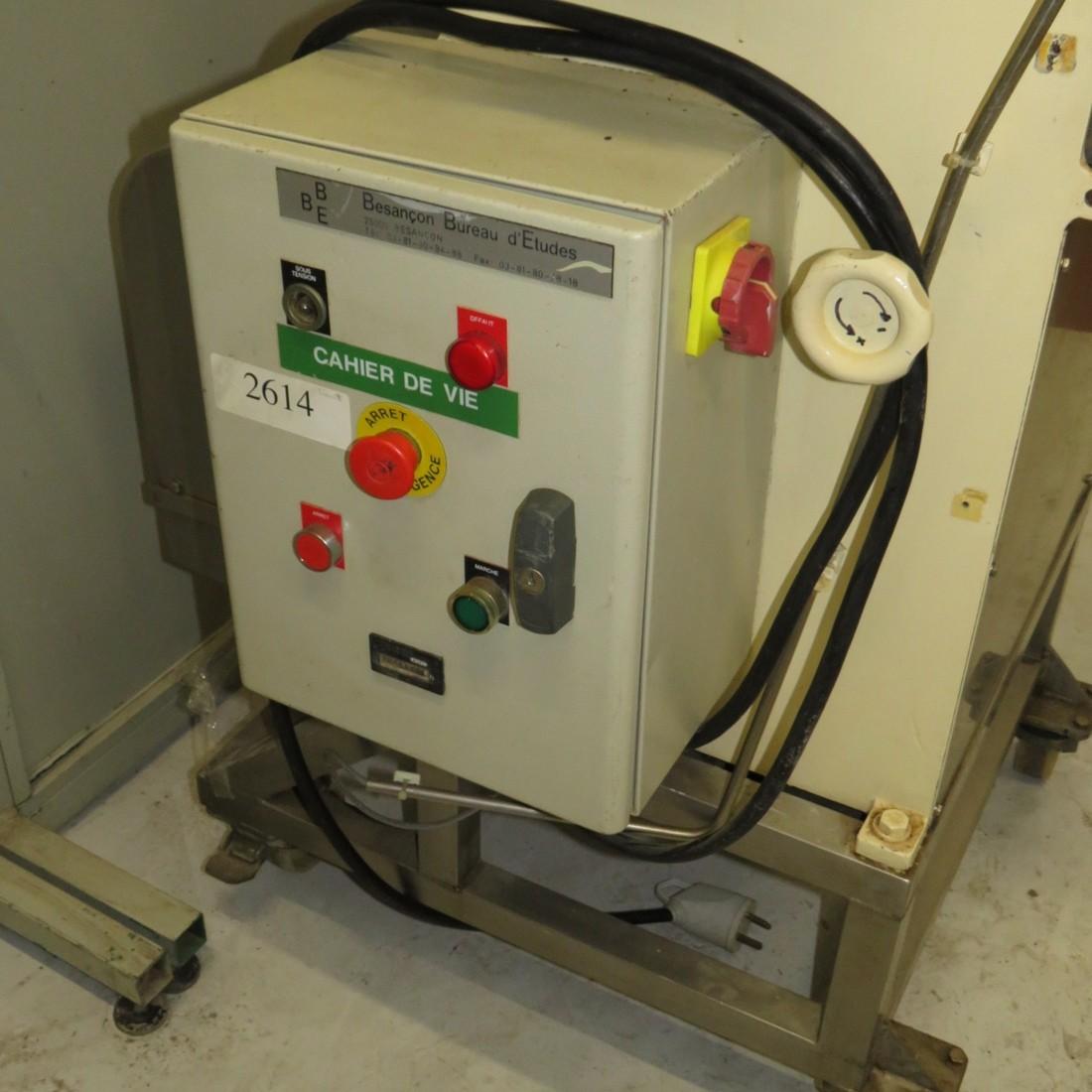 R6BG793 Stainless steel Granulator mill Ø120X490mm